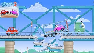 Wheelie 2 -  All Levels 1 - 16 Gameplay Walkthrough  (iOS, Android)