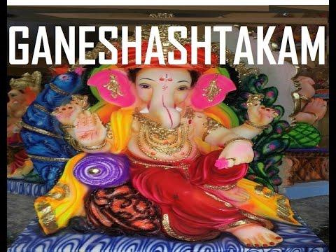Ganeshashtakam by S P  Balasubrahmanyam [Full Video Song] I Sri Ganesha Pancharatna Maalika