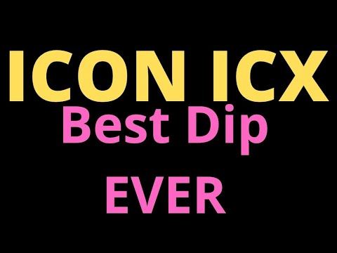 ICON icx BEST DIP E-V-E-R? 💲💲 💲 🔥🔥🔥