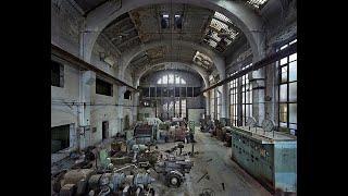 Наследие СССР превратили в помойку!Разрушенная мастерская
