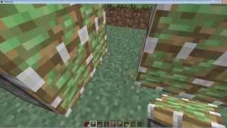 Minecraft: Como Hacer Puerta Secreta Con Pistones De Doble Acceso  (facil de hacer)