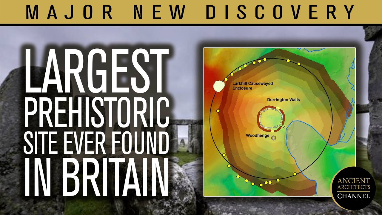 MAJOR DISCOVERY: Largest Prehistoric Site Ever Found in Britain Next to Stonehenge