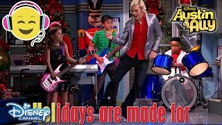 Austin & Ally | Sing-A-Long: A Perfect Christmas | Official Disney Channel UK