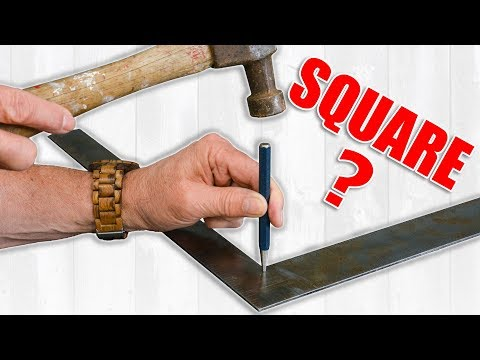 Crappy Woodworking Squares Can Ruin Your Projects / Checking Squares For Accuracy