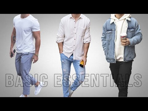 Men's Minimal Wardrobe: Basic Essentials 2020