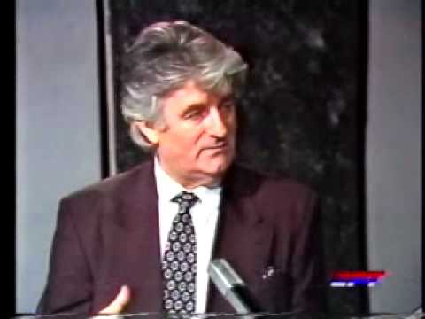 Great interview of Radovan Karadzic - the first president of the Republic of Srpska