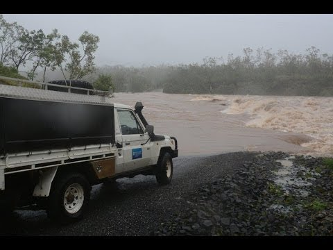Major flooding around Cooktown after Cyclone Ita