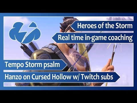 T/S psalm – Real time in-game coaching w/ Twitch subs (Hanzo on Cursed Hollow) – Heroes of the Storm
