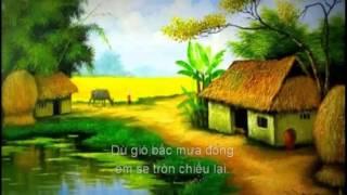 KARAOKE (02):Một Lòng Anh Đợi (giọng nam, Dan Ca Xứ Nghệ)