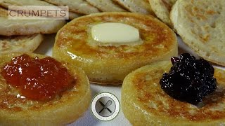 Crumpets Recipe  Bruno Albouze  THE REAL DEAL