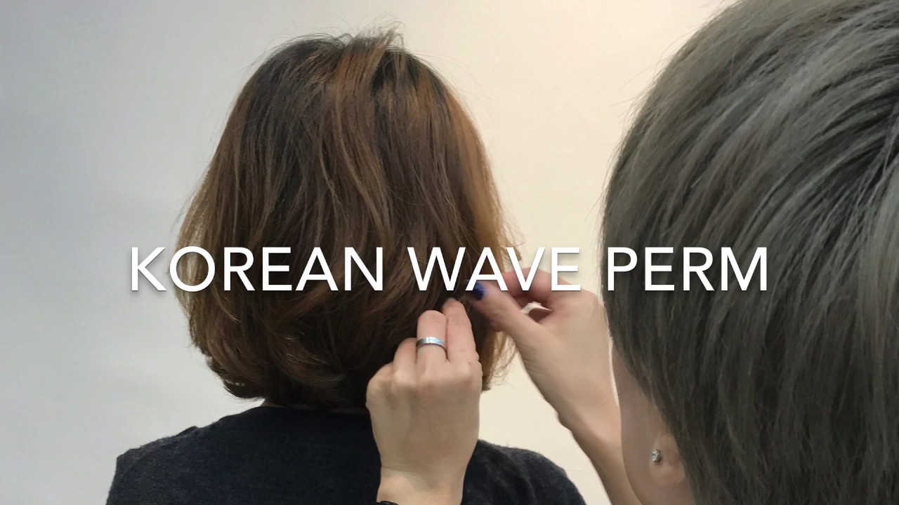Picasso S Daily Creation Korean Wave Perm For That Natural Looking Waves Youtube