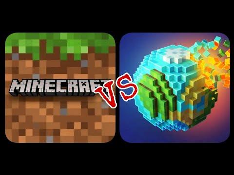 Minecraft VS Planet Craft : Block Craft Games indir