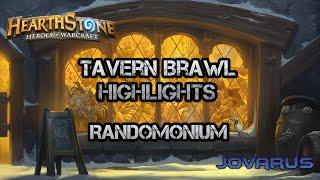 Hearthstone Tavern Brawl Highlights - Randomonium