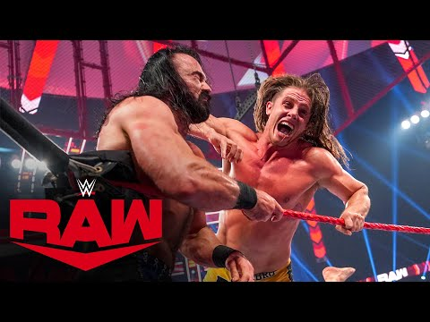 Drew McIntyre vs. Riddle – Money in the Bank Qualifying Match: Raw, June 21, 2021