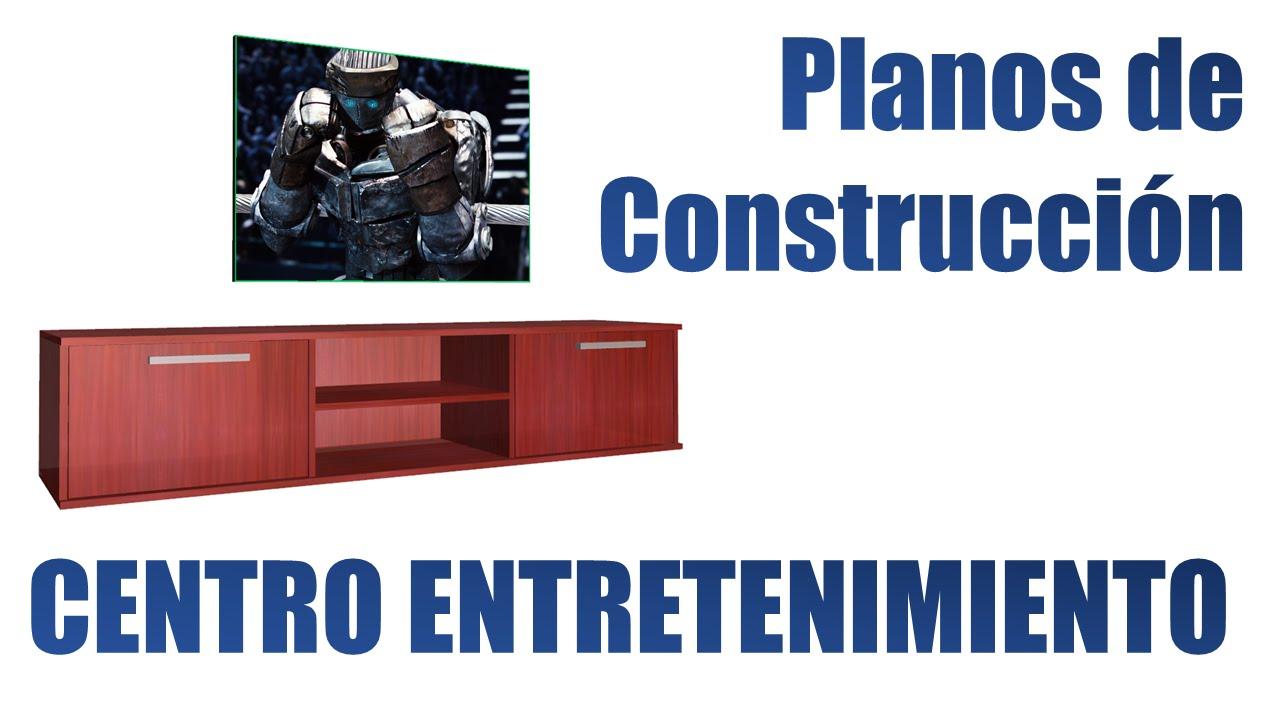 Dise o y fabricaci n centro de entretenimiento flotante for Paginas para crear planos