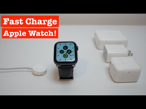 How To Fast Charge Your Apple Watch!