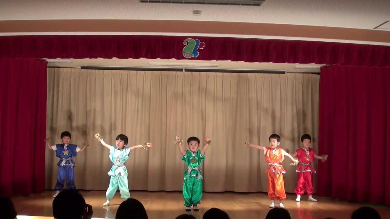 2013-12-05 幼稚園の発表会(息...