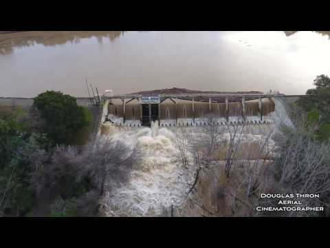 Vasona Lake Park Flood California flood 2017 Los Gatos CA by Douglas Thron