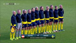 International Friendly. Women. Austria - Sweden (19/02/2021)