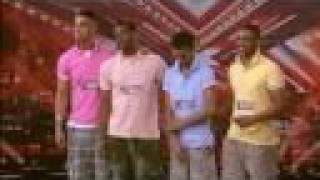 JLS FIRST Audition - THE X FACTOR 2008 (FULL)