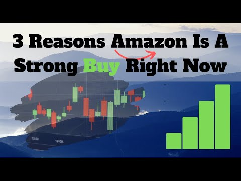 3 Reasons Amazon Is A Strong Buy Right Now - AMZN Technical Analysis + Crude Oil!
