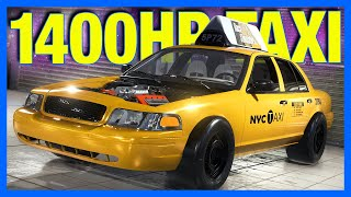 Subscribers Build a 1400 Horsepower Taxi in Car Mechanic Simulator