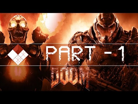 DOOM - WELCOME TO HELL - Part 1 - Let's play - [BLIND]