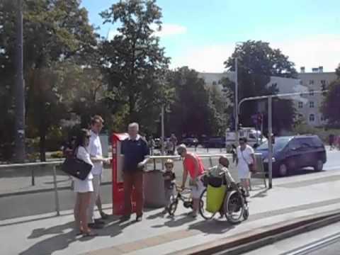 Zwiedzanie Warszawy z pokładu tramwaju K 449