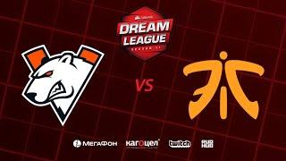 Virtus.pro vs Fnatic, DreamLeague Season 11 Major, bo3, game 3 [Casper & GodHunt]
