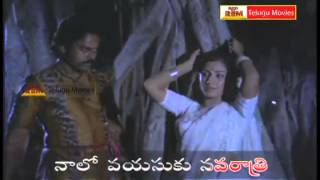 "Punnami Rathri - ""Telugu Movie Full Video Songs"" - Punnami Nagu(Chiranjeevi,Rathi)"