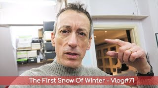 The First Snow Of Winter - Vlog#71