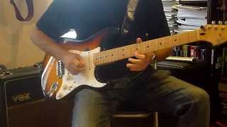 Edged In Blue - Rory Gallagher (Guitar Solo Cover)