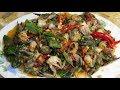 Fresh Crabs With Spicy Chili Sauce (ភ្លាក្ដាមទឹកកក) - Yummy Seafood Recipes Full Video
