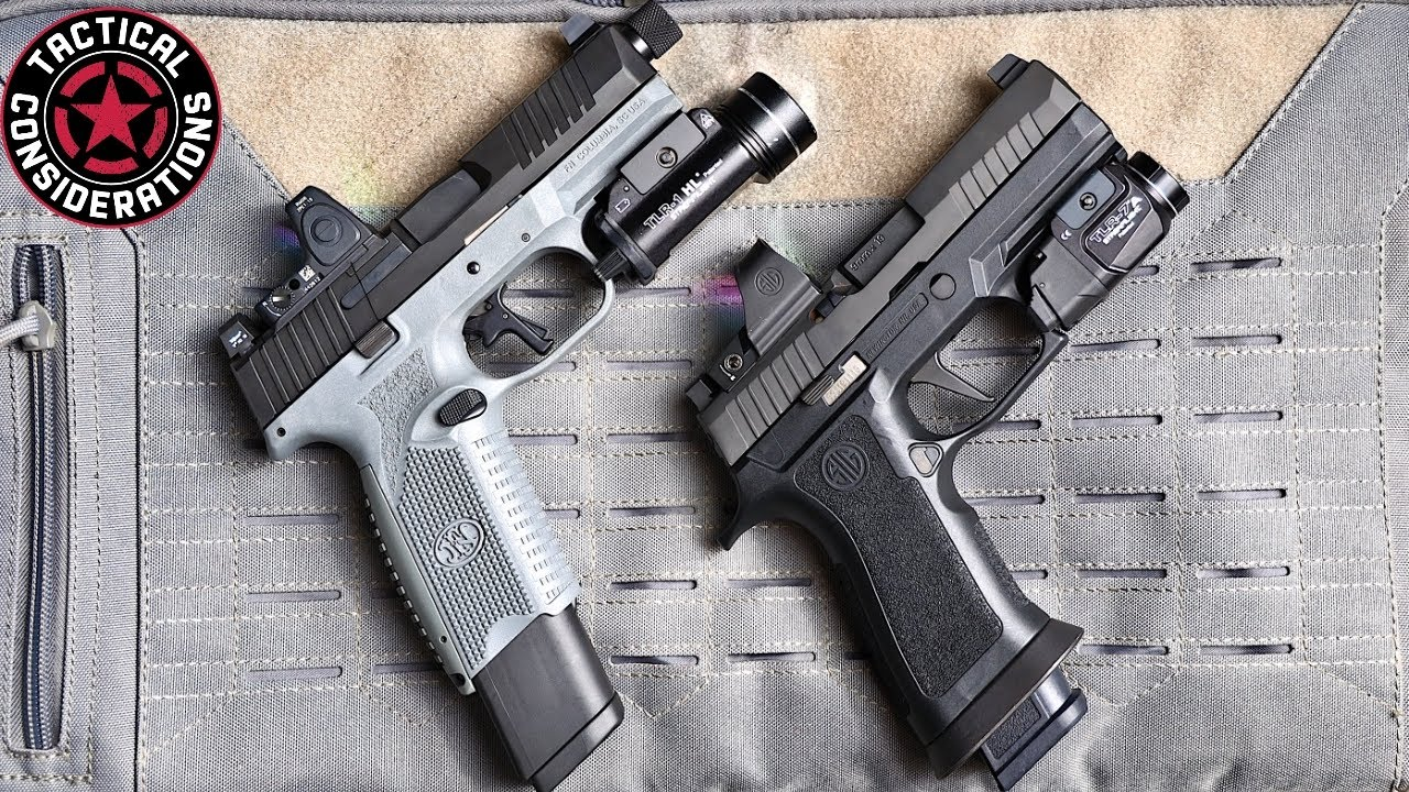 FN 509 VS Sig X Which Family Is Right For You new Pistol Owners