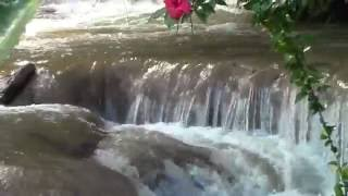 Nacimiento de la Cascada de Agua Azul, Chiapas, Relax Music.