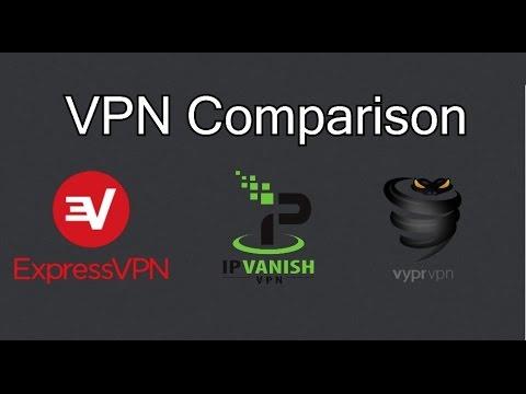 ExpressVPN vs IPVanish vs VyprVPN