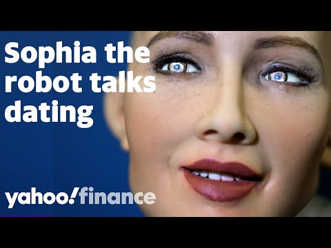 Sophia The AI Robot On Dating Apps, Kids, And Who Should Pay On The First Date
