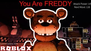 Ich BECAME FREDDY in Roblox FNAF VR Multiplayer!!