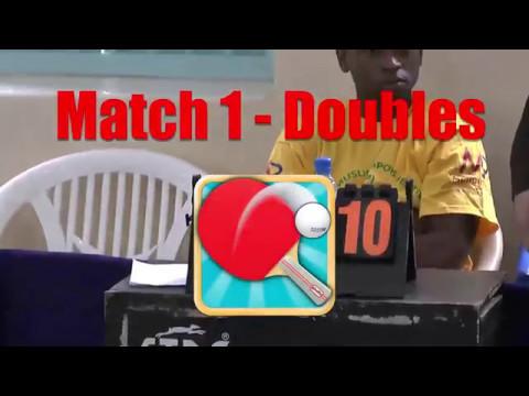 Table Tennis - Dar v Nairobi 01