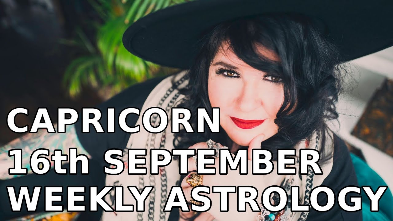 capricorn weekly astrology forecast october 27 2019 michele knight