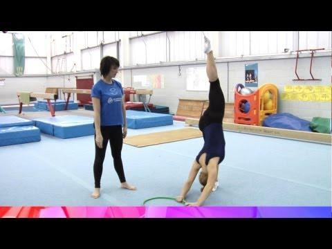 Develop the Full Turn to Vertical Split - gymnastics