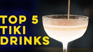 Top Five Tiki Drinks | How to Drink