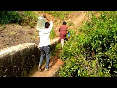 Way to Dhab Dhabi falls