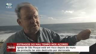 Reportagem SIC Noticias  - Rescaldo do mau tempo nos Açores