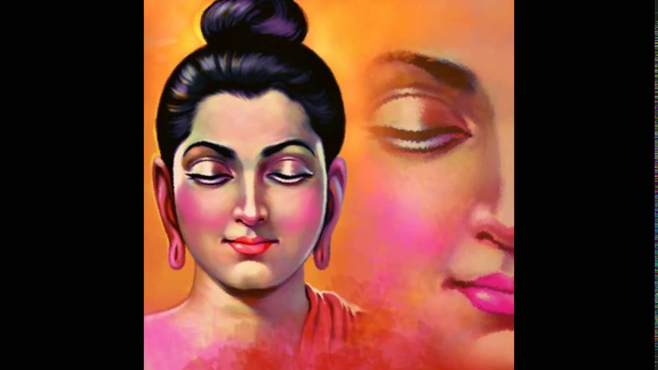 Image result for buddha painting india