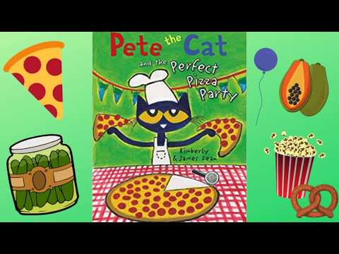 Pete The Cat And The Perfect Pizza Party - Read With Me Book