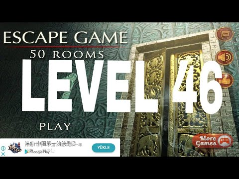 Escape Game 50 Rooms 1 Level 46 Walkthrough Youtube