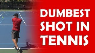 Dumbest Shot In Tennis | TENNIS JEOPARDY