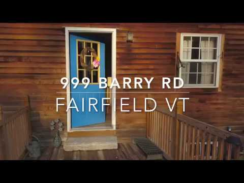 Vermont Home For Sale With 12 Acres - 999 Barry RD Fairfield VT