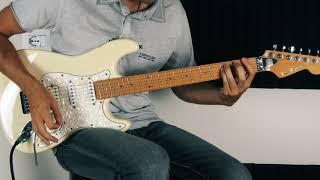 Europe - Superstitious - Solo (Guitar Tutorial)
